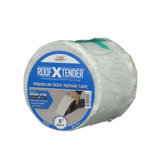 "TRI-BUILT 4"" x 50' ROOF X TENDER® Premium Repair Tape with Shur-Stik™ Adhesive Technology White"