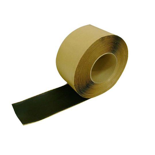 "TRI-BUILT 6"" x 100' Millennium EPDM Cover Strip Black"