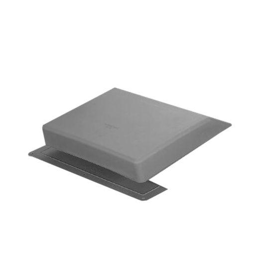 TRI-BUILT Plastic Slant Back Roof Vent Grey