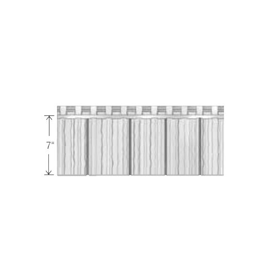 "Exterior Portfolio Portsmouth™ 8' Single 7"" Cedar Shingle Slate"