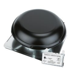 TRI-BUILT 1170 Power Plus Roof Vent with Pre-Wired Humidistat/Thermostat