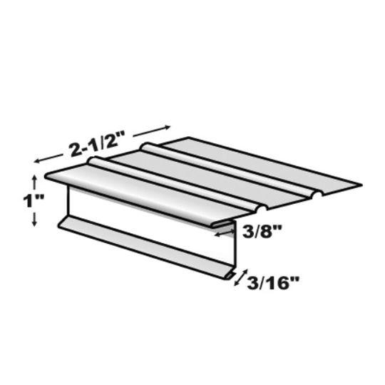 TRI-BUILT FS4-1/2 Standard Painted Aluminum Drip Edge White