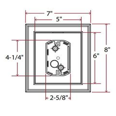 TRI-BUILT UL Listed Electrical Mounting Block