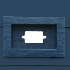 TRI-BUILT Horizontal Recessed Water Management Mounting Block for Fiber...