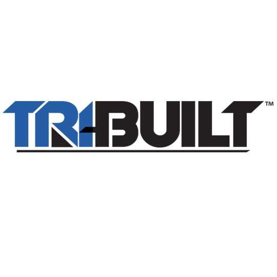 """TRI-BUILT 1/2"""" x 4' x 4' High Density Fiberboard Prime Coated on 6 Sides Black"""