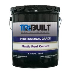 TRI-BUILT A/F Plastic Roof Cement Summer Grade - 5 Gallon Pail