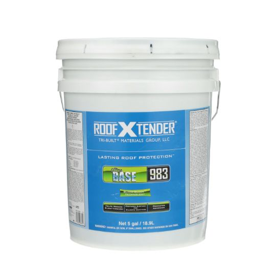TRI-BUILT ROOF X TENDER® 983 Ultra Base Roof Primer - 5 Gallon Pail