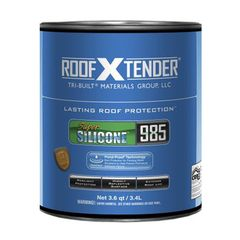 TRI-BUILT ROOF X TENDER® 985 Super Silicone Roof Coating