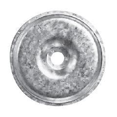 "TRI-BUILT 2"" Galvalume Seam Plates - Bucket of 1,000"