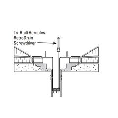 TRI-BUILT Hercules RetroDrain Screwdriver