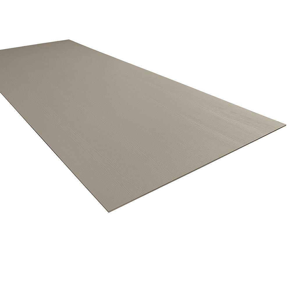 "James Hardie 5/16"" x 4' x 10' HardiePanel® Select-Cedarmill Vertical Siding for HardieZone® 10 Timber Bark"