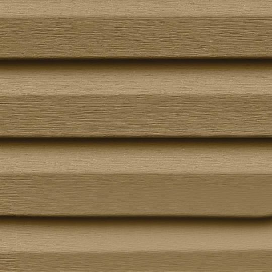 "Exterior Portfolio Premium Pointe® Double 4.5"" Dutchlap Siding Panels Bone"
