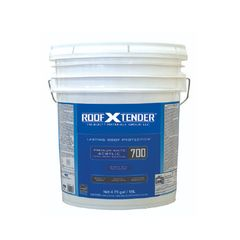 TRI-BUILT ROOF X TENDER® 700 Quick Dry Premium Acrylic Cool Roof...