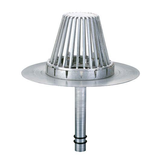 """TRI-BUILT 2"""" Hercules Aluminum RetroDrain with O-Ring"""