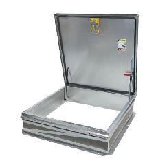 """TRI-BUILT 48"""" x 48"""" Galvanized Roof Hatch - HC Zone"""