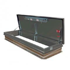 "TRI-BUILT 30"" x 96"" Aluminum Roof Hatch - HC Zone"