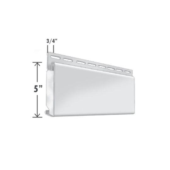 """Exterior Portfolio 5"""" x 3/4"""" Window Lineal Aspen White"""