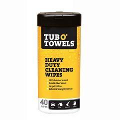 Gasoila Tub O' Towels® Multi-Purpose Scrubbing Wipes - Canister of 90