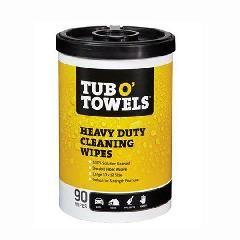 Gasoila Tub O' Towels® Multi-Purpose Scrubbing Wipes - Canister of 40