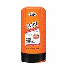 Permatex Fast Orange® Pumice Lotion Hand Cleaner with Brush - 15 Oz.