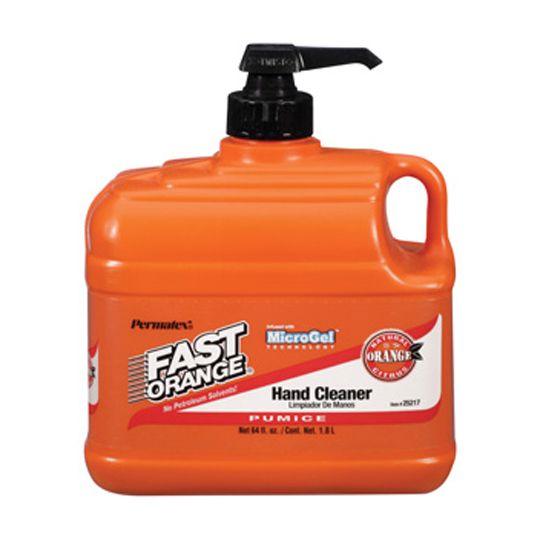 Permatex Fast Orange® Fine Pumice Lotion Hand Cleaner - 64 Oz.
