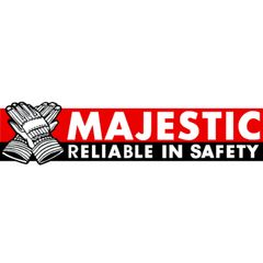 Majestic Glove Large High Visibility Waterproof BIB Overall with Quilted...