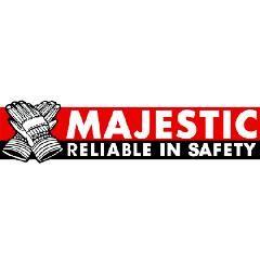 Majestic Glove Medium High Visibility Hooded Sweatshirt with Zipper...