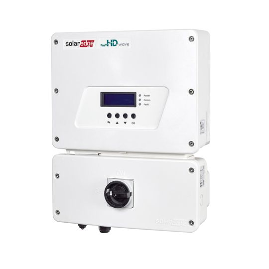 SolarEdge Technologies 6 Kilowatt Single Phase Inverter with HD-Wave Technology & RGM