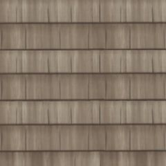 "CertainTeed Roofing 22-1/8"" x 47-1/2"" Presidio® Shake 3-Course Panel..."