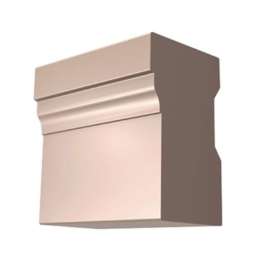 "James Hardie 2"" x 17' HardieTrim® Brick Mould Casing for HardieZone® 10 Primed"
