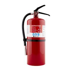 First Alert PRO10 Rechargeable Fire Extinguisher with Bracket