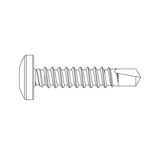 "James Hardie 1-1/8"" Reveal® Exposed Fastener for Steel - Carton of 250"