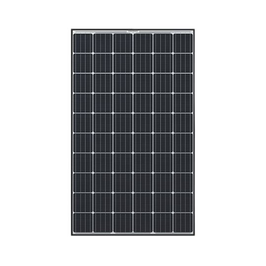 Hanwha Q CELLS USA 32 mm 305 Watt Q.Peak Black & White Monocrystalline Solar Panel