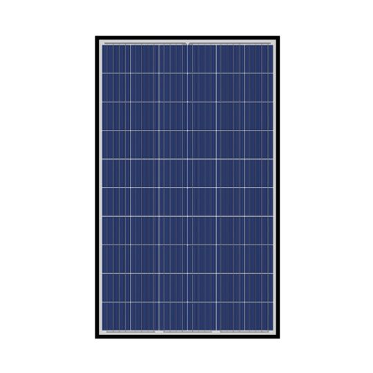 S-Energy America 40 mm 265 Watt SN-Series 60-Cell Poly-Crystalline PV Module with Black Frame