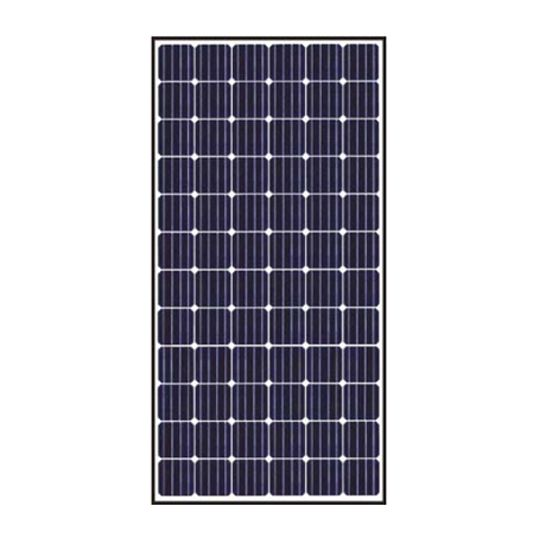 S-Energy America 40 mm 350 Watt SN-Series 72-Cell Mono-Crystalline PV Module with All Black Design