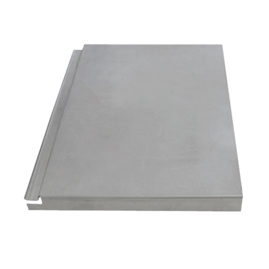 """Quick Mount PV 14"""" x 18"""" Aluminum Flat-Tile Replacement Flashing Mill"""