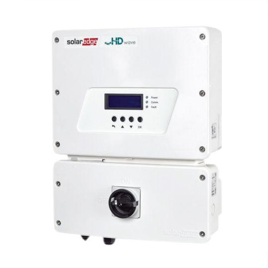 SolarEdge Technologies 7.6 Kilowatt EV Charging Single Phase Inverter with HD-Wave Technology