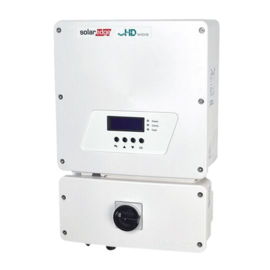 SolarEdge Technologies 10 Kilowatt Single Phase Inverter with HD-Wave Technology (-40°C)