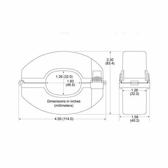 SolarEdge Technologies StorEdge™ 400-Amp Current Transformer