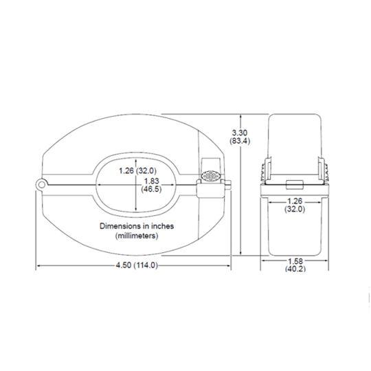 SolarEdge Technologies 150-Amp Current Transformer - Set of 3