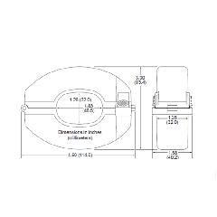 SolarEdge Technologies 600-Amp Current Transformer - Set of 3