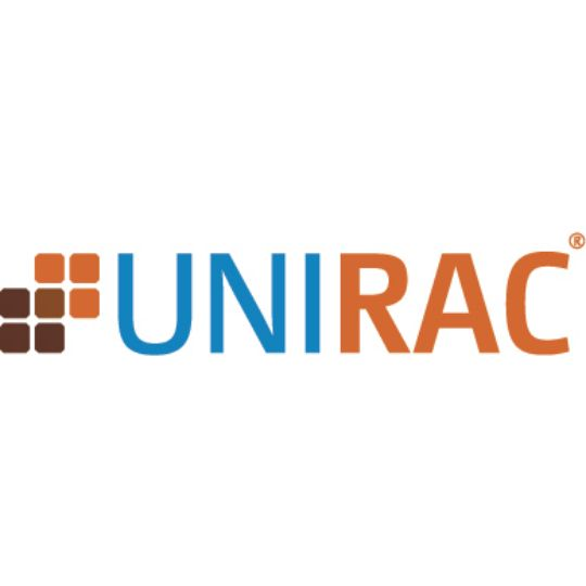 Unirac Solarmount End Clamp ABCDK with Hardware Dark Bronze Anodized