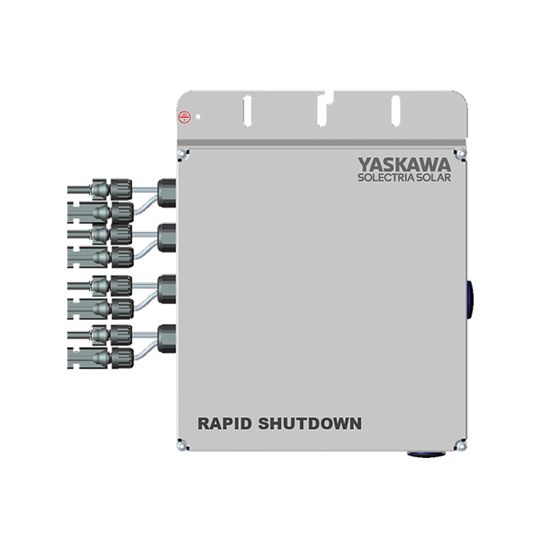 Yaskawa Solectria Solar Rapid Shutdown Combiner for PVI 3800/7600TL