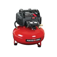 Porter Cable 6 Gallon 150 psi Oil-Free Pancake Compressor