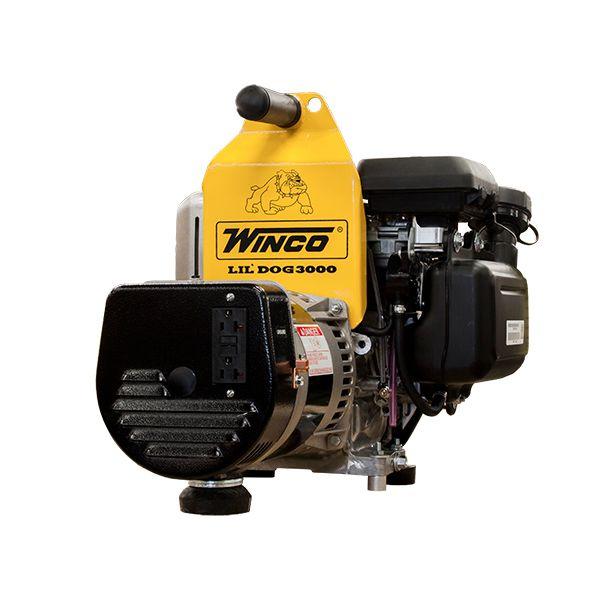 Winco 5HP W3000H 3,000 Watt Industrial Lil' Dog Portable Generator