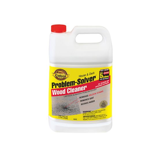 Cabot Problem Solver™ Wood Cleaner - 1 Gallon