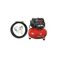 Porter-Cable 6 Gallon Oil-Free Pancake Compressor