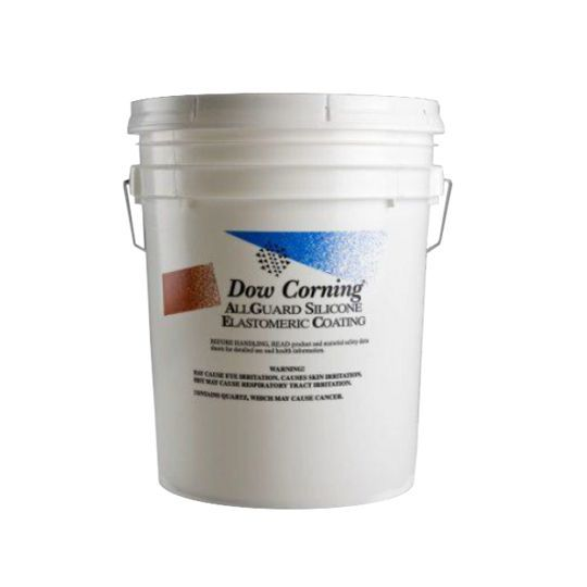 DOW DOWSIL™ ALLGUARD Silicone Elastomeric Coating Deep Tint Base - 1 Gallon Pail