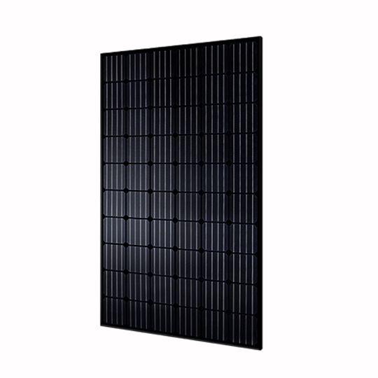 Hyundai Energy Solutions 35 mm 300 Watt RG Black-Series 60-Cell Mono-Crystalline Type Solar Module with All Black Frame