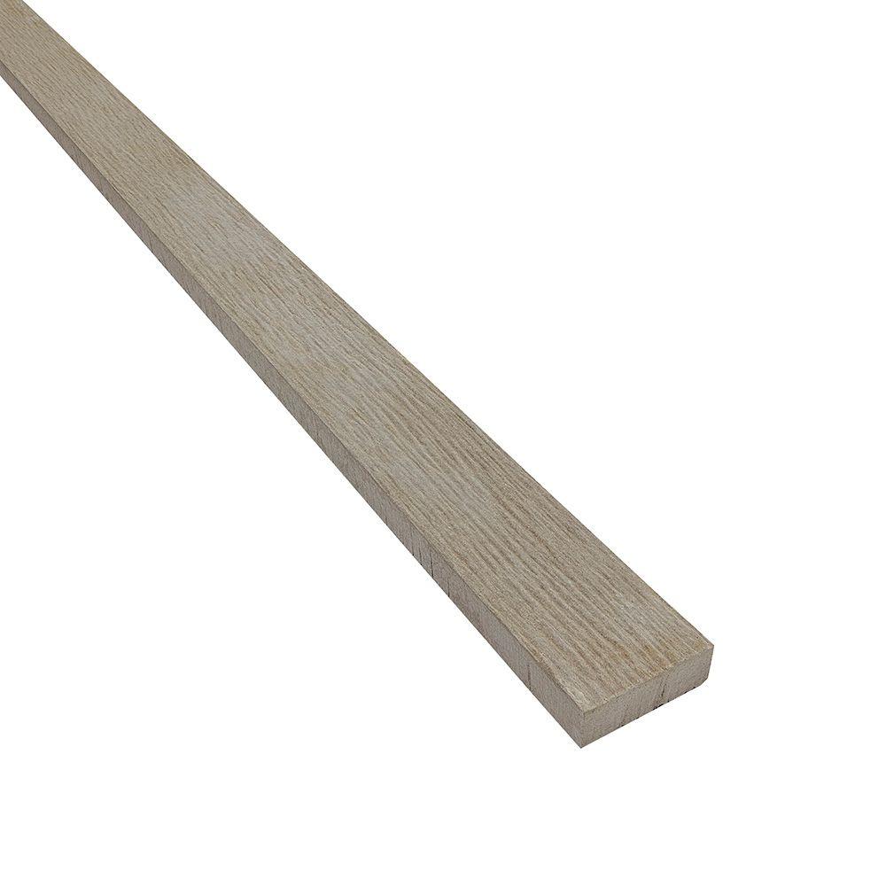 "James Hardie 3/4"" 2-1/2"" x 12' HardieTrim® 4/4 Rustic Grain Batten Board for Universal HardieZone® Primed"